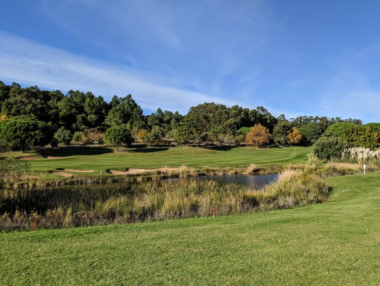 Looking at the 6th fairway from the 8th tee (Atlantic)